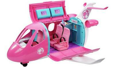 Barbie Dream Plane Playset Realistic Touches, Like Reclining Seats, Working Over