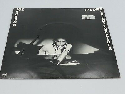 """Joe Jackson - It's Different For Girls 7"""" vinyl single 1979 A&M Records picture"""