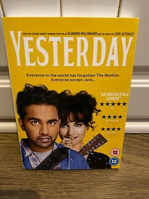 Yesterday [DVD] Only Watched Once From New - Trusted Uk Seller - Region 2