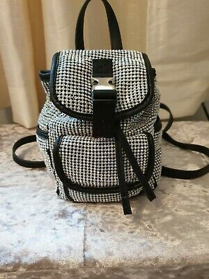 Topshop Mini Backpack Sparkly Diamonte Christmas Present