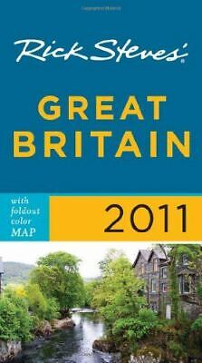 Steves, Rick, Rick Steves' Great Britain 2011 with map, Like New, Paperback