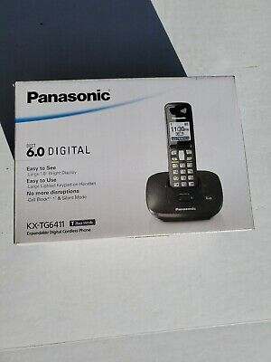 slightly use* PANASONIC KX TG6411T//kx-tg6411//kx-tga641t handset