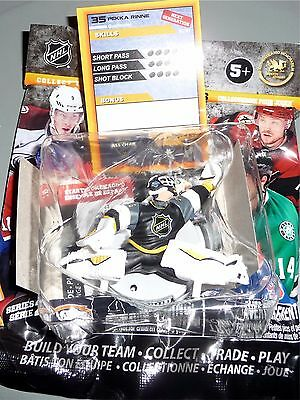 """PEKKA RINNE All-Star Game 2.5"""" Series 2 Silver NHL Imports Dragon Figure LOOSE"""