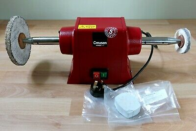 """Creusen DS7200T Bench Top Mounted 8"""" Grinder Polisher Buffing Machine 650W"""