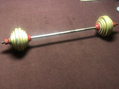 """Loading Pin with Carabiner 1/"""" Weight Plates Grip Training Barbell Baraban RB"""