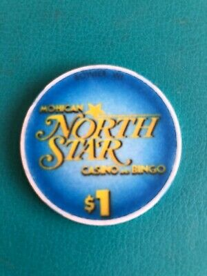 North Star Casino Chip Bowler Wisconsin Issued 1997