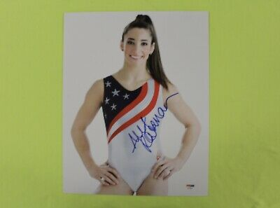 Aly Raisman USA Olympic Gymnastics Signed 11x14 poster PSA/DNA COA GK LEOTARD