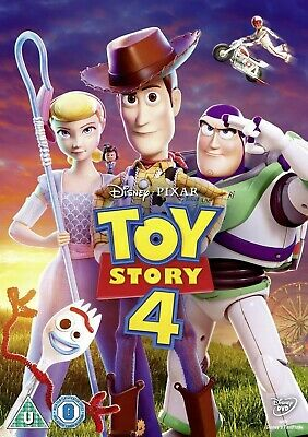 Toy Story 4 DVD Like New, Watched Once