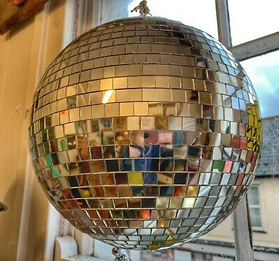 Vintage Mirror/Disco Ball c1970/80s
