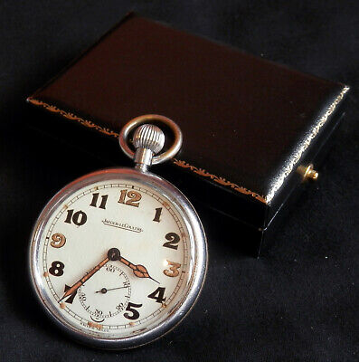 WWII Jaeger-LeCoultre (ex-service) Pocket Watch