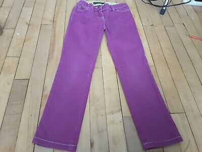 Mini Boden Girls Pink Jeans, Trousers, Age 8-9