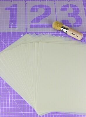 Genuine Mylar Blank Stencil Sheets Craft Cutting Machine Stencil 125 Microns