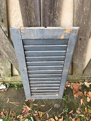 VINTAGE Old SHUTTER Wooden 27 long x 13 Wide Architectural Salvage F
