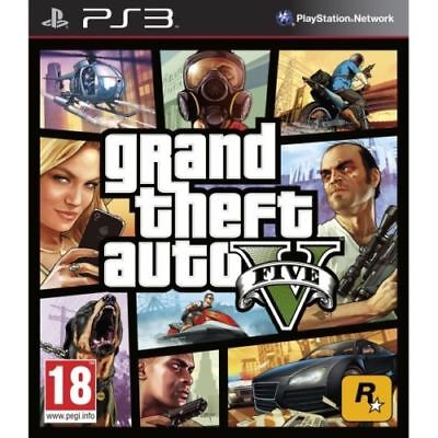 Grand Theft Auto V -PS3  GTA 5 PS3 - MINT Condition - Super Fast Delivery