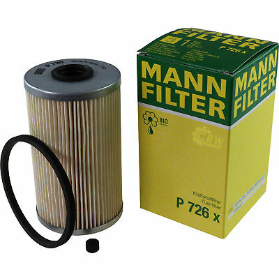 Original MANN-FILTER Kraftstofffilter P 726 x Fuel Filter
