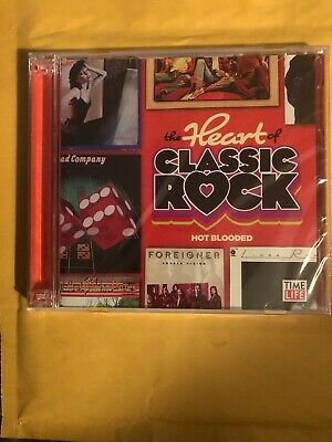Time Life The Heart Of Classic Rock: Hot Blooded CD (2 Disc 26 Tracks) Brand New