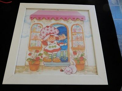 Vintage Strawberry Shortcake  Wall Picture
