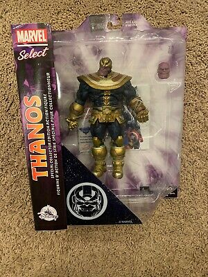 RARE EXCLUSIVE!! Disney Store Marvel Select Thanos Action Figure NEW SEALED!!