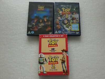 TOY STORY 1 & 2 10th ANNIVERSARY BOX SET / TOY STORY 3 / OF TERROR - DVD