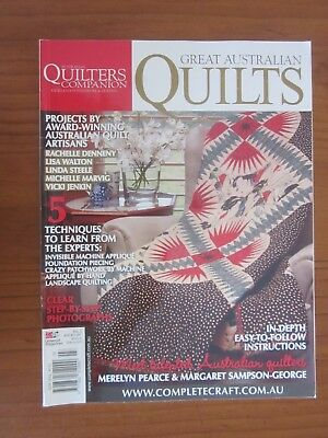 Quilters Companion Great Australian Quilts Magazine No 3 Patterns