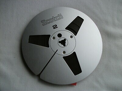 "SCOTCH 7"" REEL to REEL METAL TAPE SPOOL"