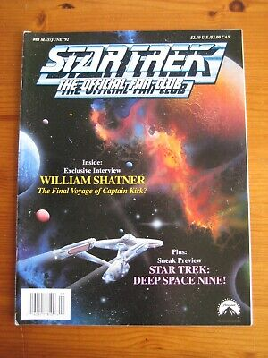 Star Trek: The Official Fan Club Magazine  #85, May/June 1992