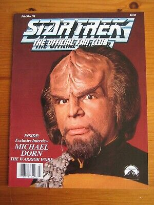 Star Trek: The Official Fan Club Magazine  #72, February/March 1990