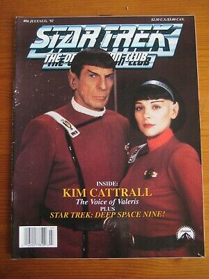 Star Trek: The Official Fan Club Magazine  #86, July/August 1992