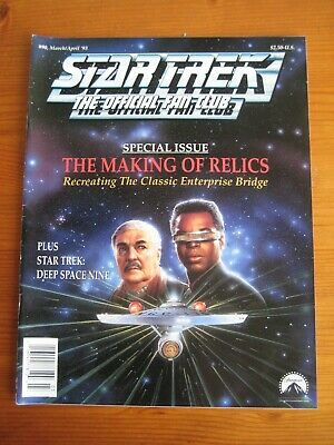 Star Trek: The Official Fan Club Magazine  #90, March/April 1993