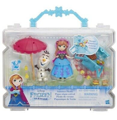 Frozen Elsa Olaf Anna Kristoff Personaggi Disney little Kingdom Hasbro H 7,5 cm