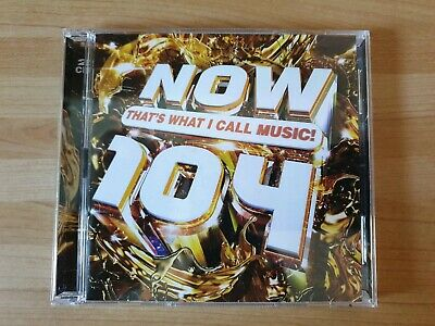 NOW THATS WHAT I CALL MUSIC! 104 2CD L@@K - 1st class signed for postage
