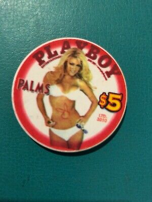 Palms Playboy Las Vegas Limited Edition Uncirculated Casino Chip 2003