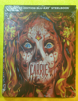 Carrie Limited Edition Steelbook Bluray REGION A New & Sealed