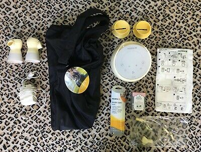 Medela Sonata Deluxe Double Electric Breast Pump With Travel Bag