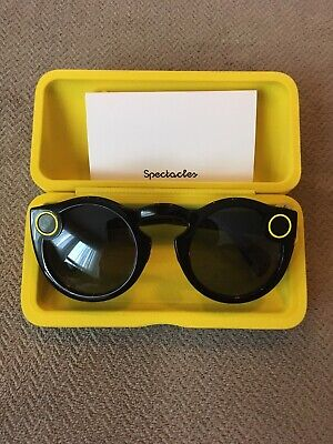 Brand New Snap Inc Snapchat Spectacles Gen 1 Smartphone Camera Glasses Black