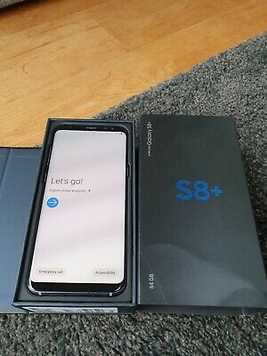 Samsung Galaxy S8 + Plus SM-G955 - 64GB - Unlocked Grey Boxed