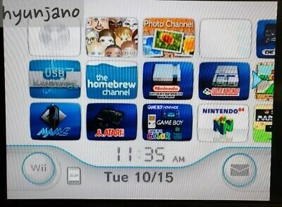 Modded Nintendo Wii Console bundle over 7500+games (32G SDcard) Home Video Game