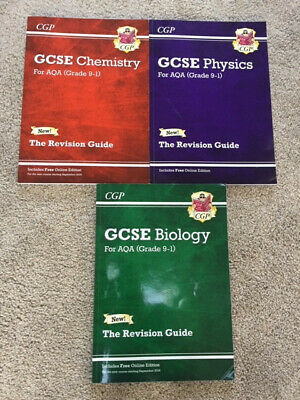 GCSE Guide for AQA 9-1 Separate Chemistry, Physics & Biology Revision Guides
