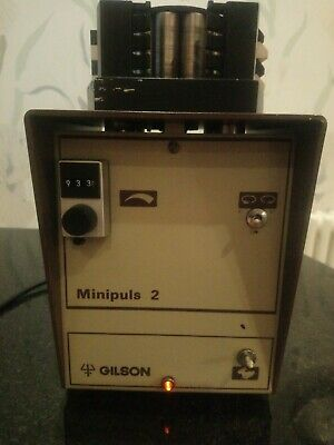 Peristaltic Pump Gilson Minipuls 2 with 4 Channel Head