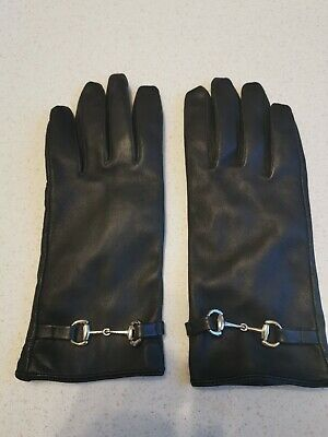 Soft Ladies Leather Gloves size M L