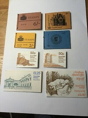Lot Of GB Stamp Booklets All Complete. Some Pre Decimal