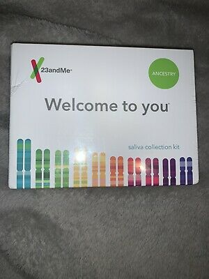 23andMe DNA Test  Ancestry Service Prepaid Kit New Sealed