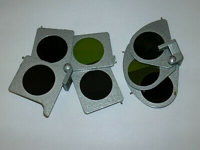 Original Light Filters for Russian Marine Sextant SNO-T CHO-T Sale AS IS