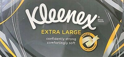 Kleenex Extra Large 2 PLY Tissues 90 Per Box - Multi Buy