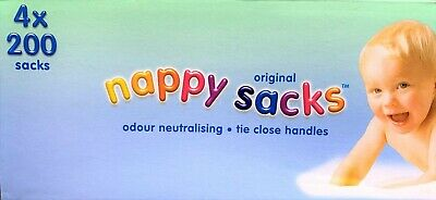 Mamia Nappy Sacks 3x150 Pack 450 Total Lightly Fragranced Odour Neutralising