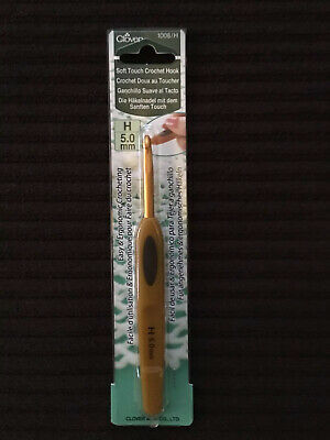 Clover Soft Touch Crochet Hook Full Range of Sizes Available!