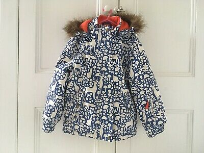Mini Boden Kids Ski Jacket Age 7 8 Winter Coat Girls
