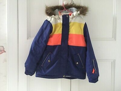 Mini Boden Kids Ski Jacket Age 9 10 Winter Coat