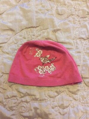 Girls Pink Hat Approx Age 3-5
