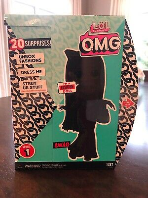 Lol Surprise Omg Swag Fashion Doll With 20 Surprises - New -Htf